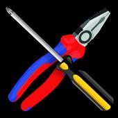 Hand tools icon