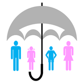 Insurance terms icon