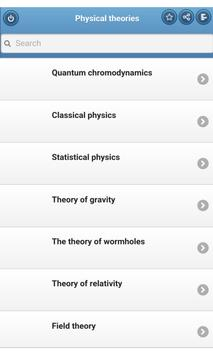 Physical theories poster