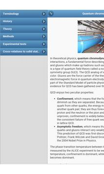 Physical theories apk screenshot