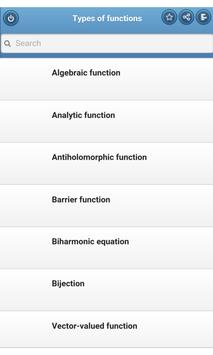 Types of functions poster