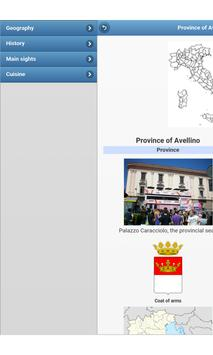 Provinces of Italy apk screenshot