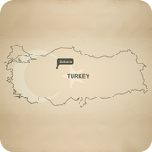 Cities in Turkey icon