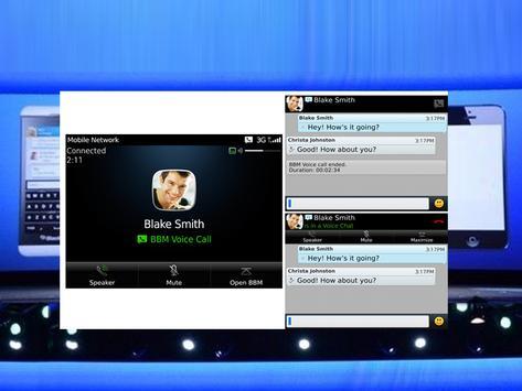 DUAL PIN for BBM Transparan apk screenshot