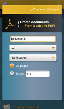 docLinker Lite Scan & Fill PDF apk screenshot