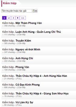 Doc truyen online apk screenshot