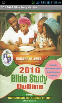 DOA Bible Study 2016 poster