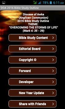 DOA Bible Study 2016 apk screenshot