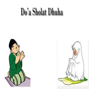 Do'a Sholat Dhuha poster