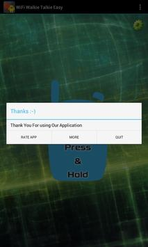 WiFi Walkie Talkie Easy apk screenshot