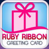 Ruby Ribbon Greeting Cards icon