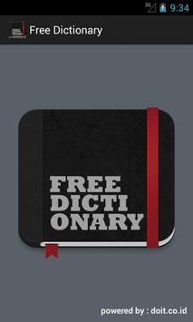 Free Dictionary poster