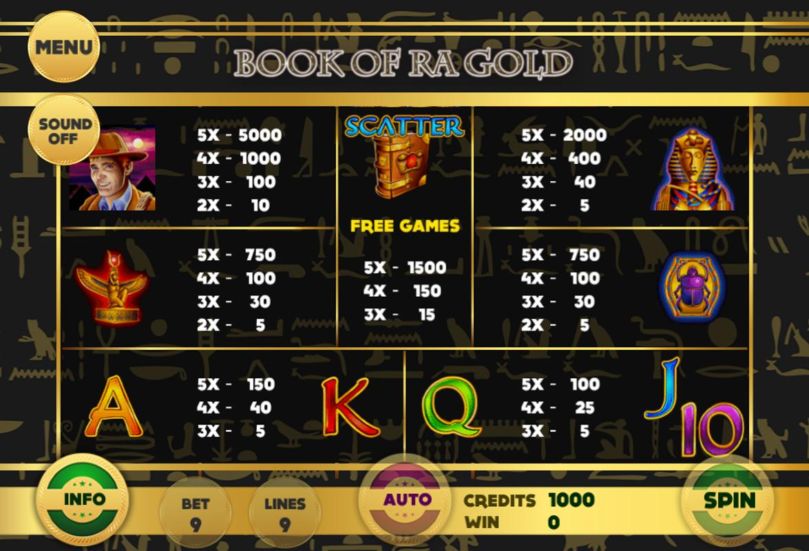 book ra slot game free download