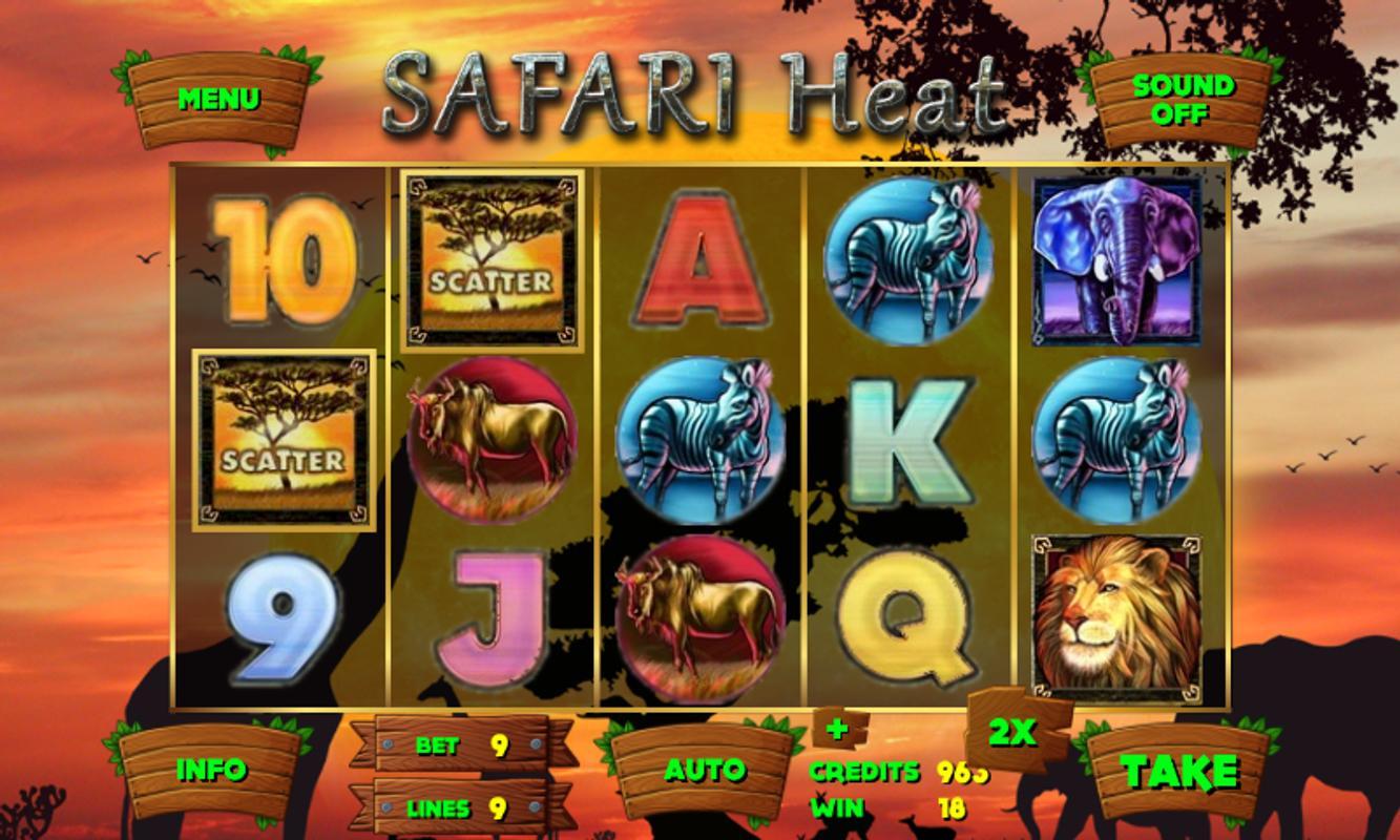 Safari heat slot game free play