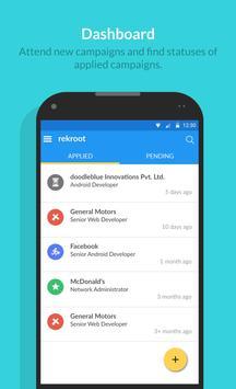 rekroot job search apk screenshot