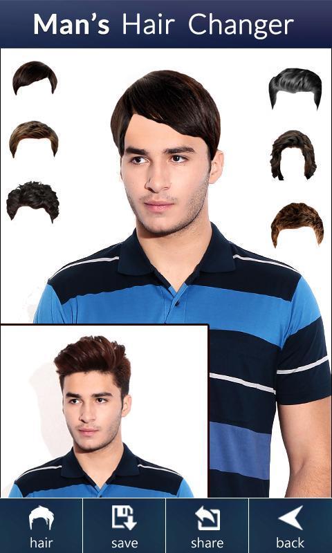 Incredible Man39S Hair Changer Hairstyle Apk Download Free Entertainment Short Hairstyles Gunalazisus