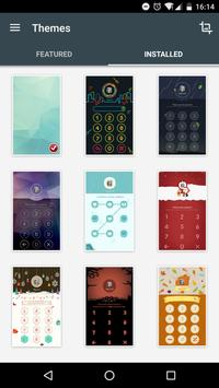 AppLock Theme ChalkDoodle apk screenshot
