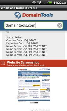 DomainTools Whois Lookup apk screenshot