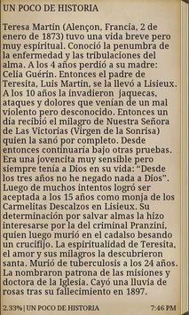 Santa Teresita Free apk screenshot