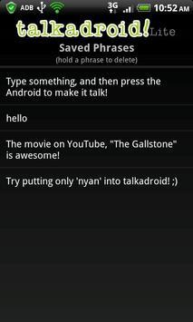 Talkadroid Lite apk screenshot