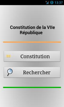 La Constitution du Niger apk screenshot