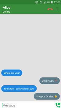 Don't Wait Messenger apk screenshot