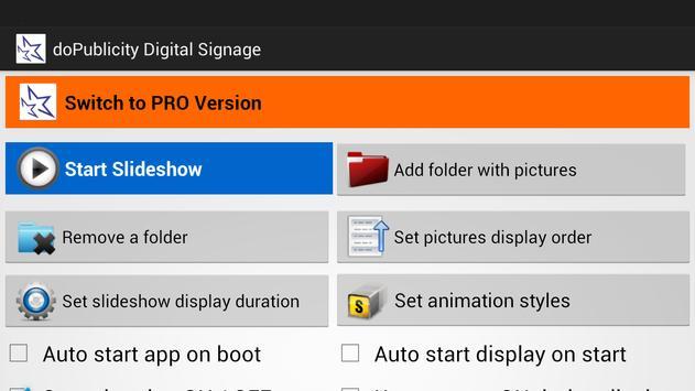 doPublicity Digital Signage apk screenshot