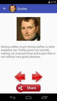 Napoleon Bonaparte Quotes apk screenshot