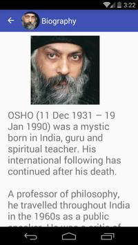 Osho Quotes apk screenshot