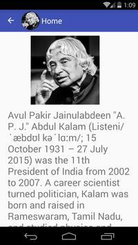 Abdul Kalam Quotes apk screenshot