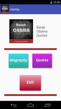 Barak Obama Quotes apk screenshot