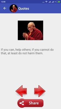 Dalai Lama Quotes apk screenshot