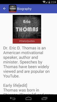 Eric Thomas Quotes apk screenshot