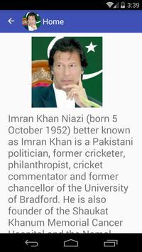 Imran Khan Quotes apk screenshot