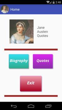 Jane Austen Quotes poster