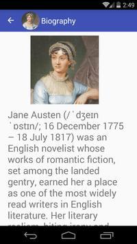 Jane Austen Quotes apk screenshot