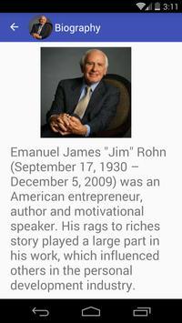 Jim Rohn Quotes apk screenshot