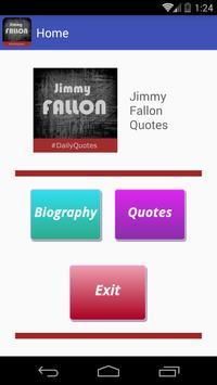 Jimmy Fallon Quotes apk screenshot