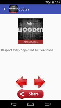 John Wooden Quotes apk screenshot
