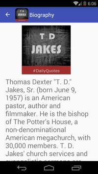 T D Jakes Quotes apk screenshot