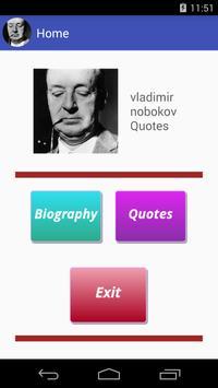 Vladimir Nobokov Quotes apk screenshot