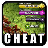 cheat clash of clans pro icon