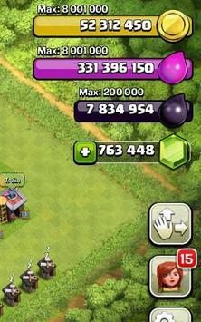 Gems for Clash of Clans apk screenshot