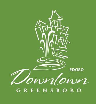 Downtown Greensboro poster