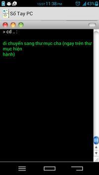 Sổ tay PC apk screenshot
