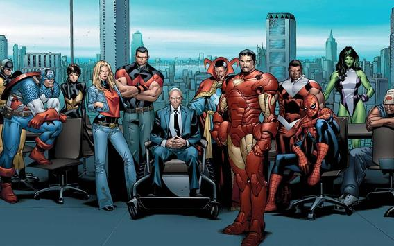 American superheroes apk screenshot