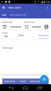 Auto SMS Sender apk screenshot
