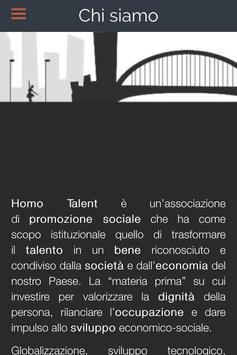 Homo Talent apk screenshot