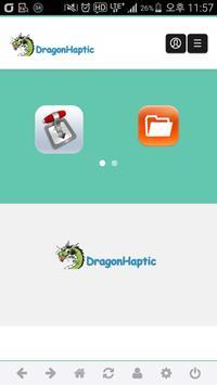 DragonHaptic apk screenshot