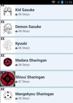 How To Draw Sharingan apk screenshot